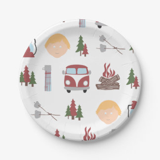 Happy Camper Plates