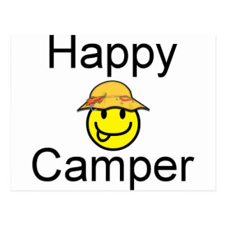 Happy Camper Postcards