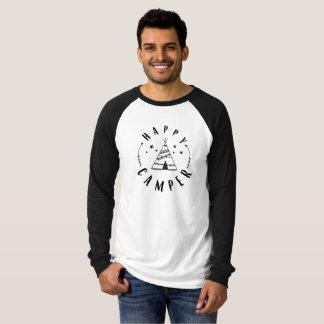 Happy Camper Raglean T-Shirt