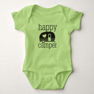 Happy Camper Romper - Baby Bodysuit