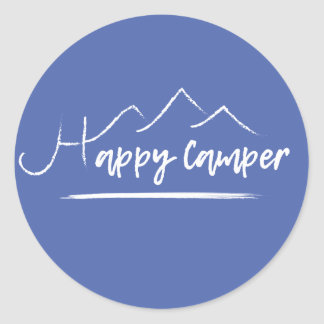 Happy Camper Sticker [BLUE]