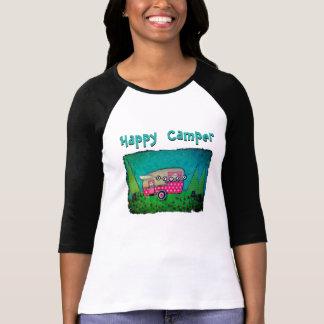 Happy Camper T-shirt Camper Art Shirt