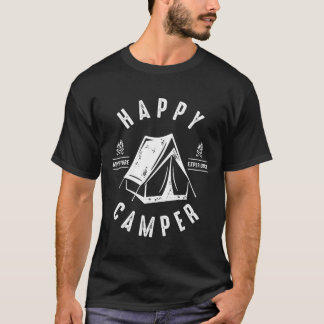 Happy Camper Tent T-Shirt