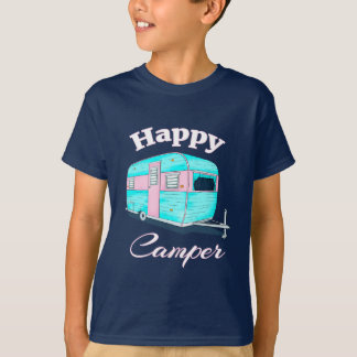 Happy Camper Trailer Camping T-Shirt