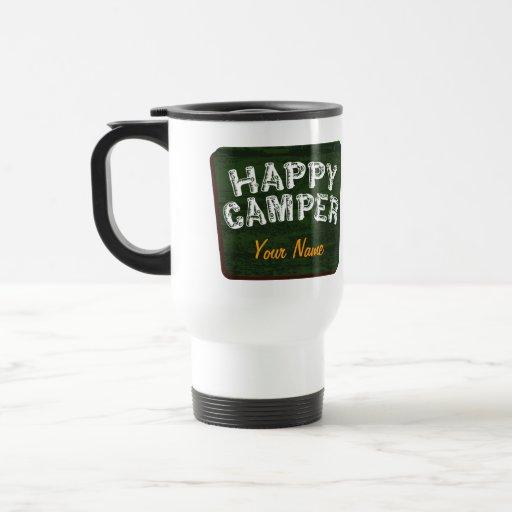 Happy Camper Travel Coffee Mug