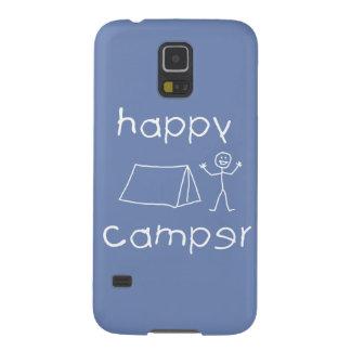 Happy Camper (wht) Galaxy S5 Case