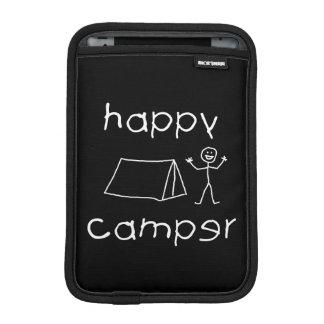 Happy Camper (wht) iPad Mini Sleeve