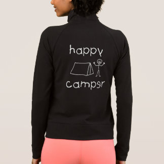Happy Camper (wht) Jacket