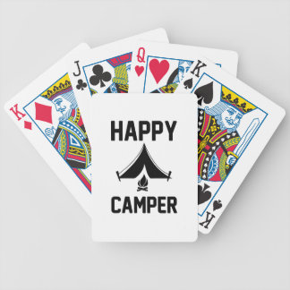 Happy Campers Bicycle Playing Cards