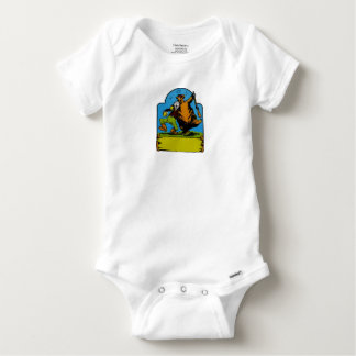 Happy Campers Personalized Baby Onesie