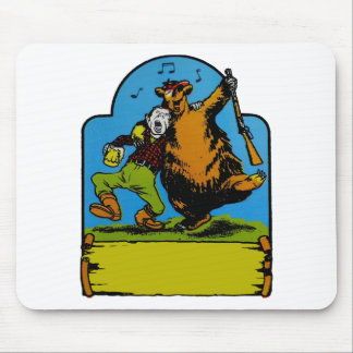 Happy Campers Personalized Mouse Pad