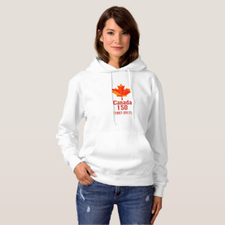 Happy CANADA 150 Years  Canadian Flag Cool Hoodie