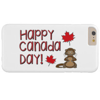 Happy Canada Day 3 Barely There iPhone 6 Plus Case