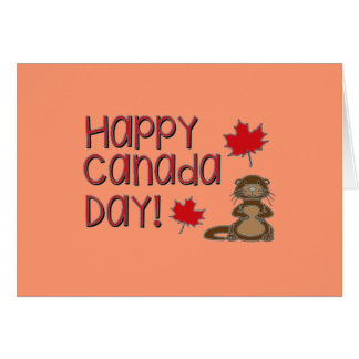 Happy Canada Day 3 Card