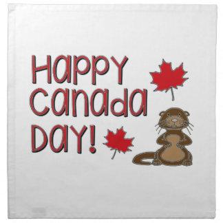 Happy Canada Day 3 Napkin