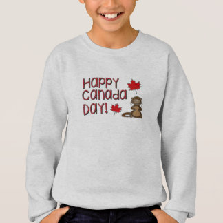 Happy Canada Day 3 Sweatshirt