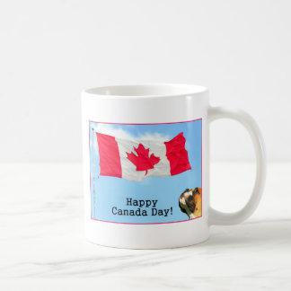 Happy Canada Day boxer mug