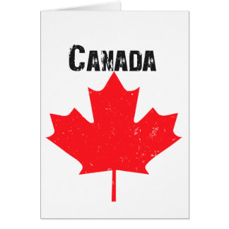Happy Canada Day! Note Card