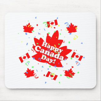 Happy Canada Day Party Mouse Pad