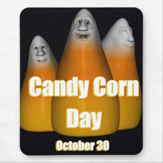 Happy Candy Corn Day October 30 Mouse Pad