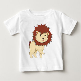 Happy Cartoon Baby Lion Baby T-Shirt