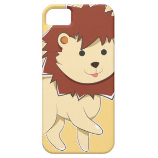 Happy Cartoon Baby Lion Barely There iPhone 5 Case