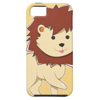 Happy Cartoon Baby Lion Case For The iPhone 5