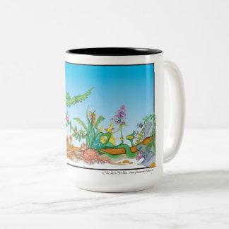 Happy Cartoon Coffee Mug