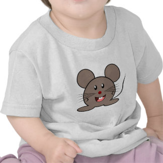 Happy Cartoon Mouse Tee Shirts