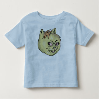 Happy Cat Face Toddler T-Shirt