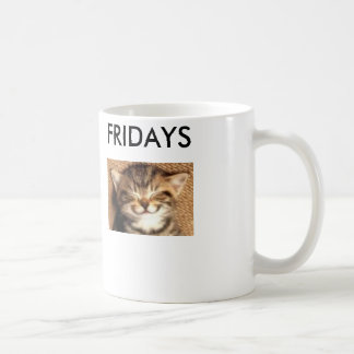 Happy Cat Friday Mug