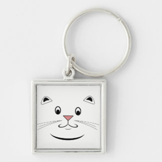 Happy Cat Gifts Key Ring