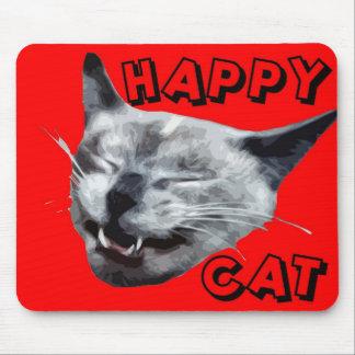 Happy Cat mousepad.