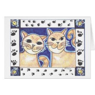 Happy Cats Card