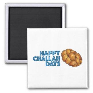 Happy Challah Days Chanukah Hanukkah Gift Magnet