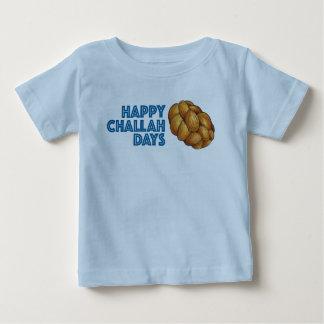 Happy Challah Days Hanukkah Chanukah Baby Tee