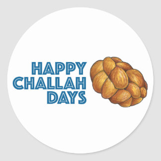 Happy Challah Days Hanukkah Chanukah Bread Sticker