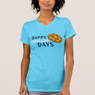 Happy Challah Days Hanukkah Chanukah Holiday Bread T-Shirt
