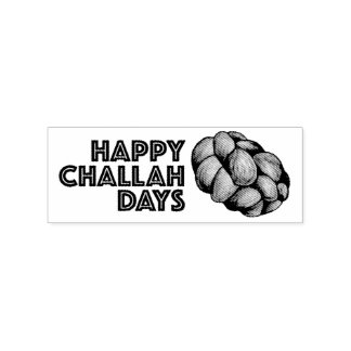 Happy Challah Days Hanukkah Chanukah Holiday Stamp