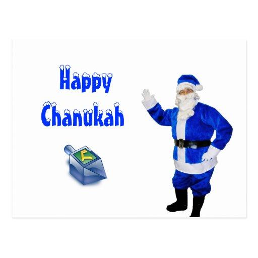 Happy Chanukah Post Card