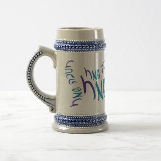 Happy Chanukah Script Steins Coffee Mug