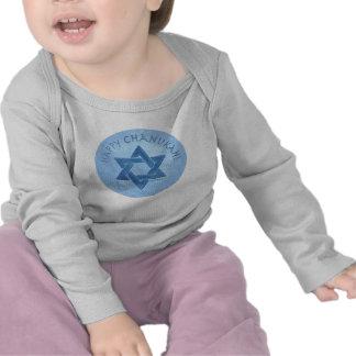 Happy Chanukah - Star of David Tshirt