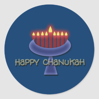 Happy Chanukah stickers
