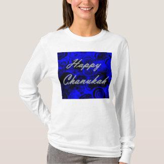 Happy Chanukah Swirls Tshirts