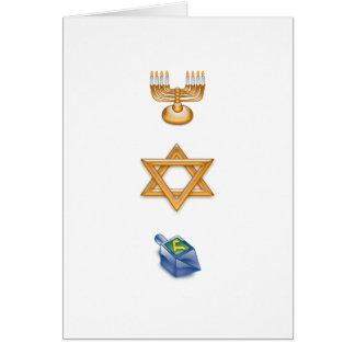 Happy Chanukkah Greeting Card