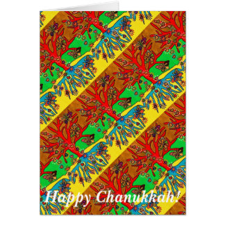 Happy Chanukkah - Hearts Grow Into Butterflies Greeting Cards