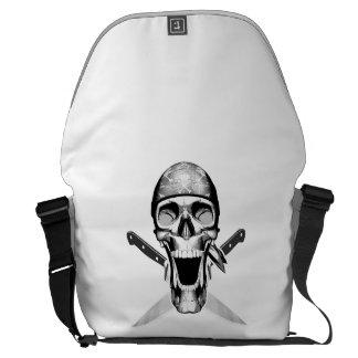 Happy Chef Skull V2 Knives Messenger Bags