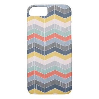 Happy chevron pattern iPhone 7 case