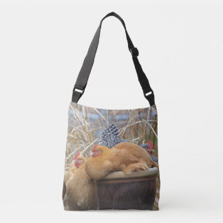 Happy Chickens And Eggs Tote Bag
