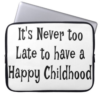 Happy Childhood Laptop Sleeve